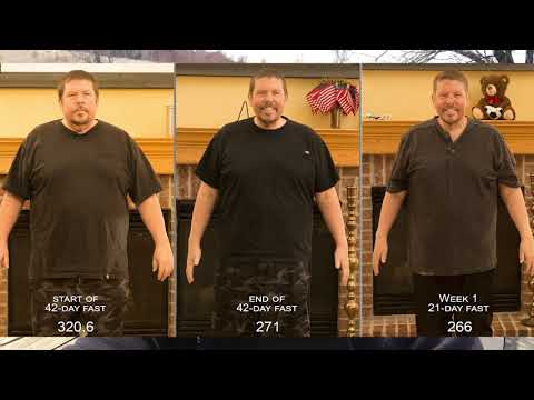 21 day fast, week 1 Amazing Transformation Results