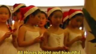 "Little Karaoke Angels ""All Things Bright & Beautiful"""