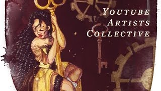 Baixar Youtube Artists Collective STEAMPUNK Speed Paint!