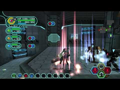 Phantasy Star Online: Blue Burst - Seabed (Ultimate Mode)