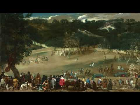 Gallery Paintings with Classical Music- Philip IV hunting Wild Boar (La Tela Real)HD