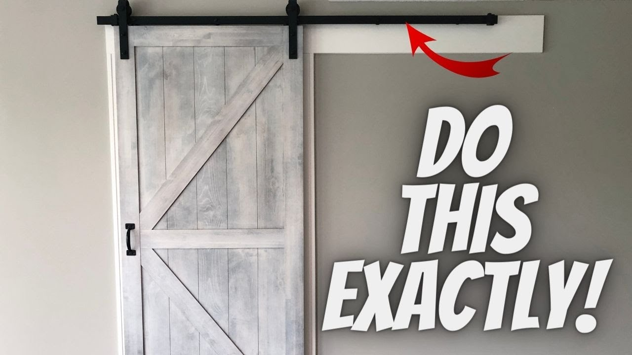 Ordinaire How To Soundproof Barn Doors The Right Way!