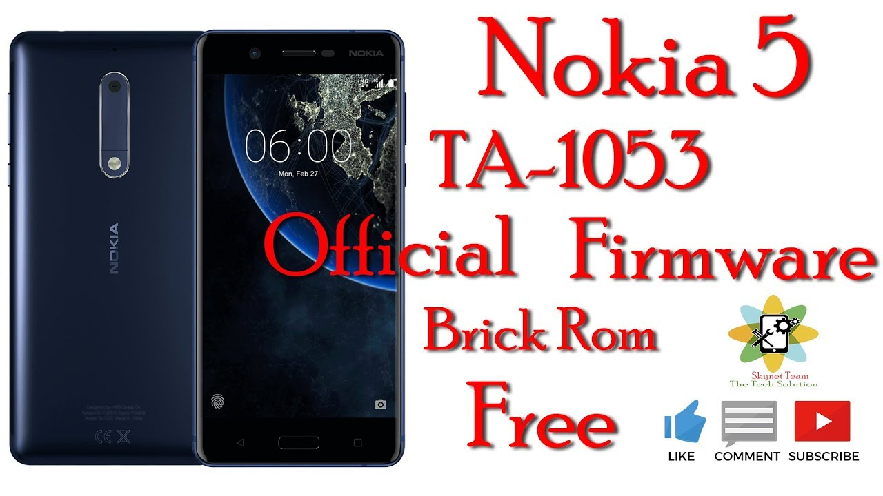 Nokia 3 official firmware rom link youtube.