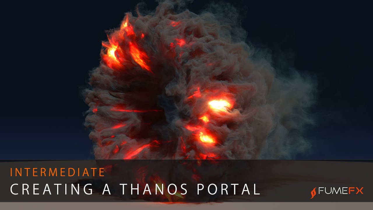 Fire and smoke portal with 3ds max and FumeFX | Tutorials