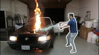$700 CAR VS 250 SHOT OF NOS **Doesn't End Well**