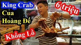 Hai lúa cháy túi vì ăn Cua Hoàng Đế khổng lồ và bị choáng khi biết nhà hàng mua 1 tặng 1 King Crab
