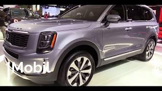 2020 KIA Telluride   Exterior and Interior Walkaround & First Look   Auto Show
