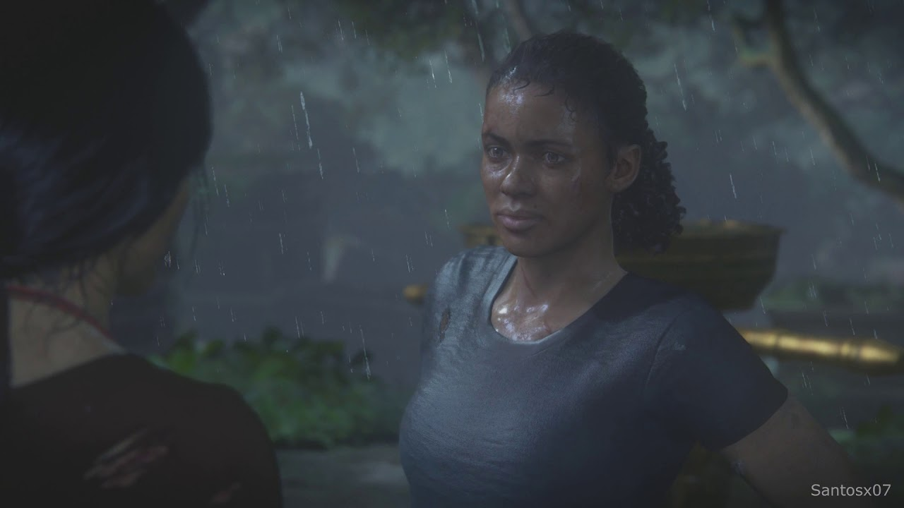 Uncharted The Lost Legacy Nadine Finds Out About Sam Drake Scene