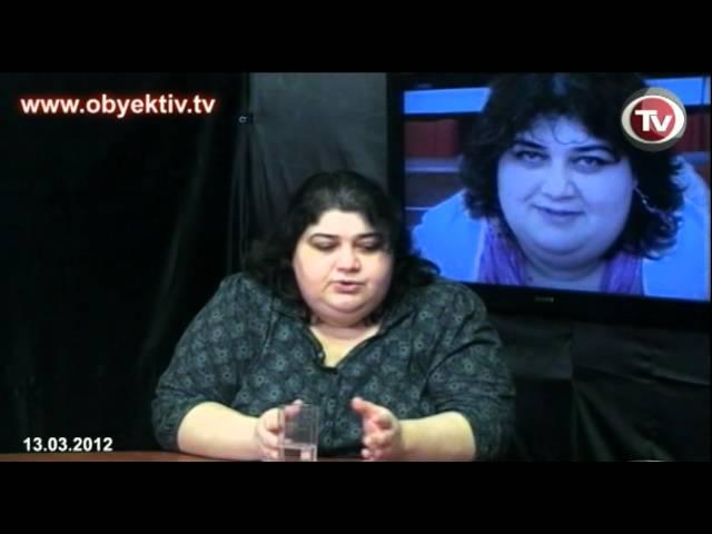 Секс видео азербайджанской журналистки хадиджи исмаиловой