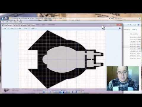 High Space Battlemaps Tutorial 1: Creating a Guide Map