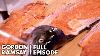 Amateur Cooks Try To Filet A Salmon | Culinary Genius Full Episode