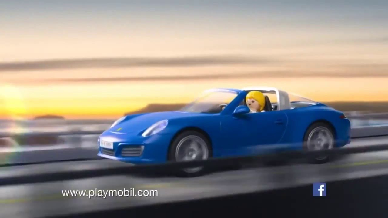 playmobil porsche 911 targa 4s youtube. Black Bedroom Furniture Sets. Home Design Ideas