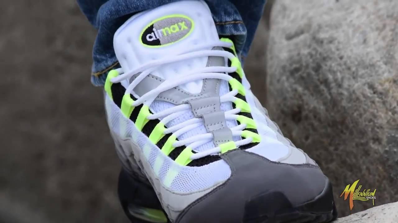 Cheap Nike Air Max 95 OG Neon What The Air Max 95