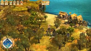 Anno 1701 - Mission 6 - Veritable Gourmet - Walkthrough Gameplay PC