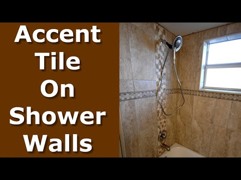 how-to-install-shower-accent-tile-wall-border-trim
