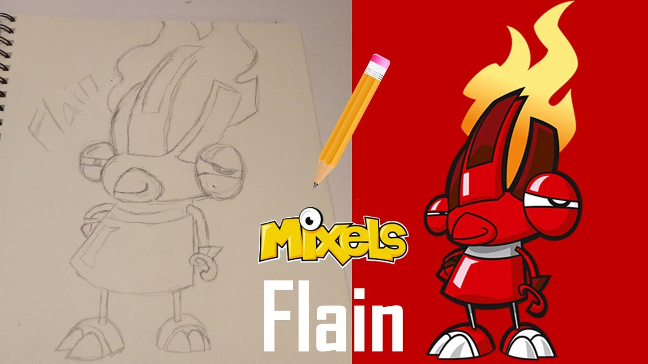 Mixels Infernites Flain