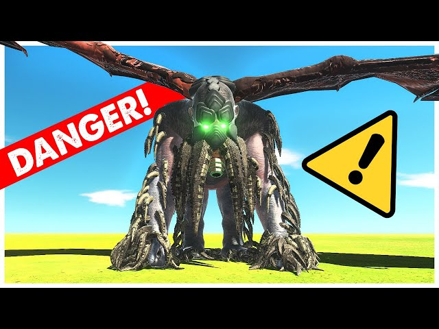 CTHULHU is OVER-POWERED - Animal Revolt Battle Simulator