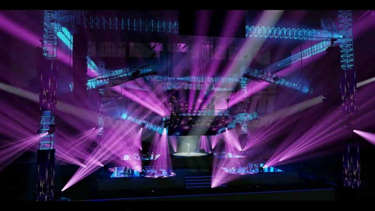 Wysiwyg lighting design software simulation live concert youtube