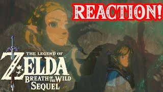Zelda Breath of the Wild Sequel Reveal Reaction! Ft Zeltik and Dr.Wily!