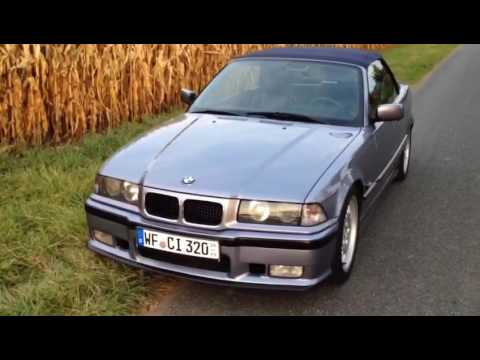 bmw e36 cabrio samoablau youtube. Black Bedroom Furniture Sets. Home Design Ideas