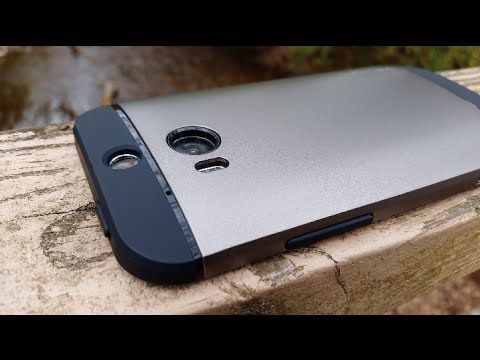 promo code 4a7b9 321fc Spigen Slim Armor for HTC One M8 Review (Shot with GS5 in 4K) - YouTube