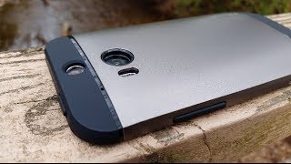 Spigen Slim Armor for HTC One M8 Review (Shot with GS5 in 4K)