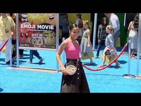"Asia Monet Ray ""The Emoji Movie"" World Premiere"