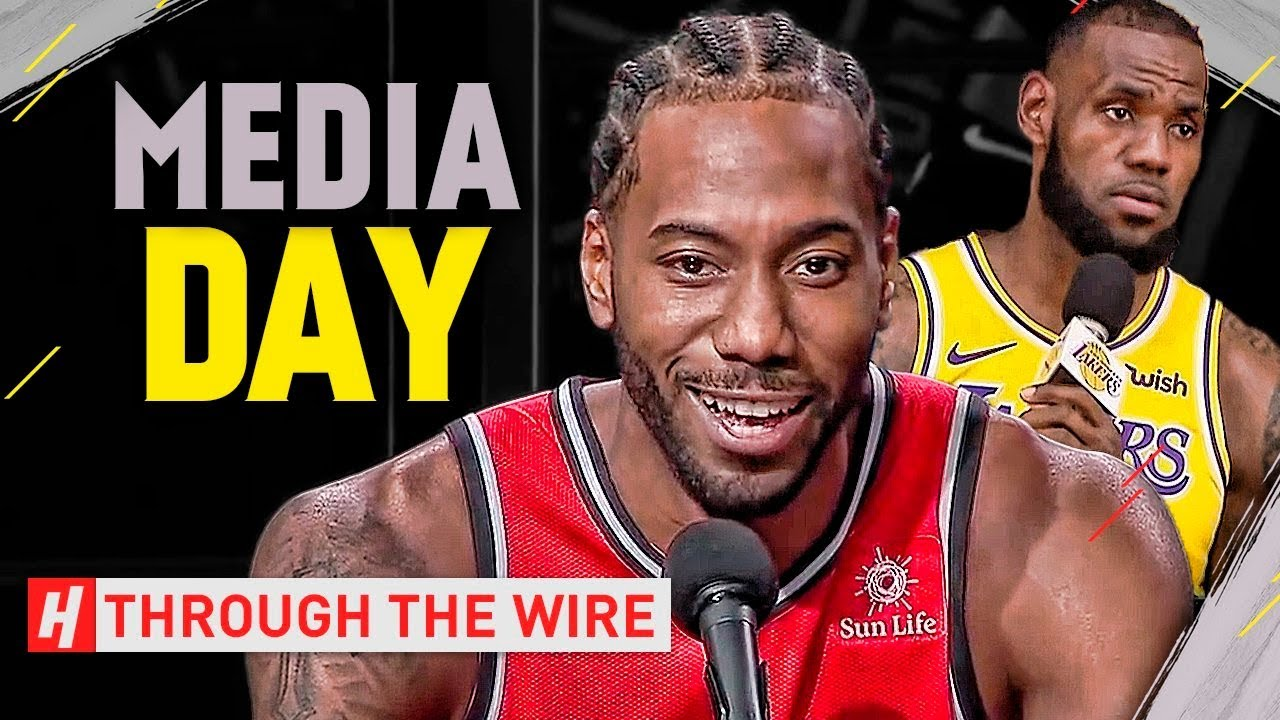 Through The Wire Podcast | 2018 Nba Media Day Takeaways Through The Wire Podcast Youtube