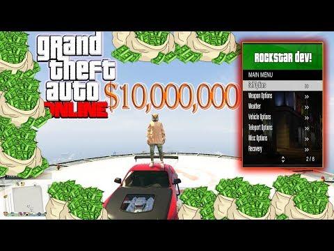 GTA  Online . PC Mod Menu - RockStar Dev w/ Stealth Money+Hacks(FREE DOWNLOAD)