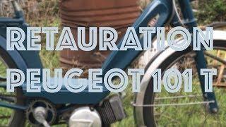 Restauration Peugeot 101T - #1 - Le démontage !