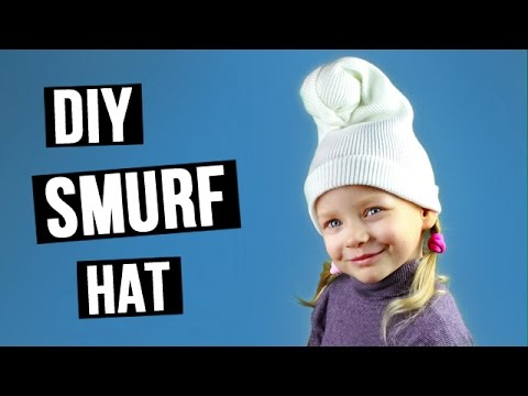 Diy Smurf Hat Youtube