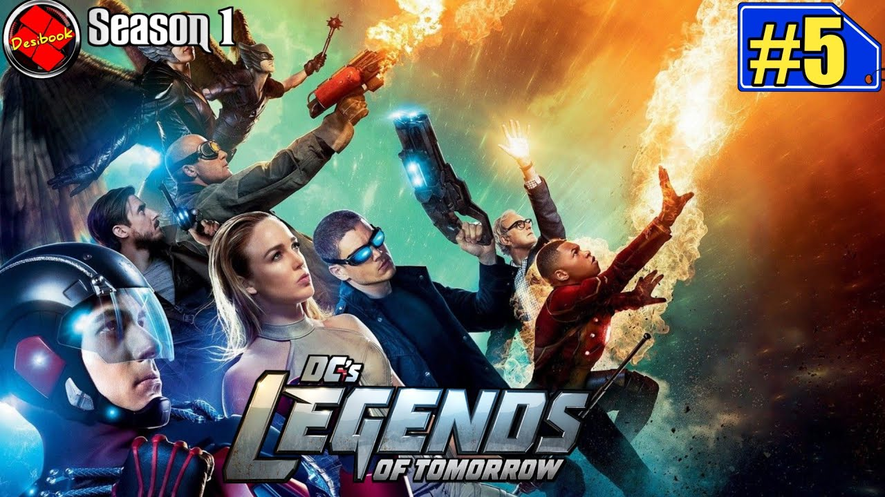 Download Dc's Legends Movie Episode 5 Season 1 Explained in Hindi/Urdu | Dc's Legends Explained in Hindi/Urdu