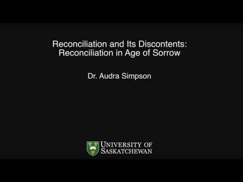 Reconciliation and its Discontents: Settler Governance in an Age of Sorrow
