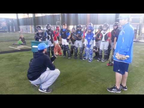 UCLA Catchers Camp - The Catcher's Stance