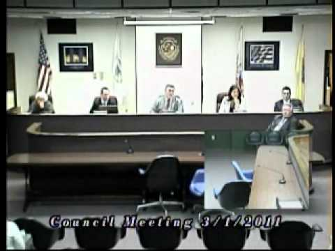 Howell NJ Township Council Meeting - 03.01.2011