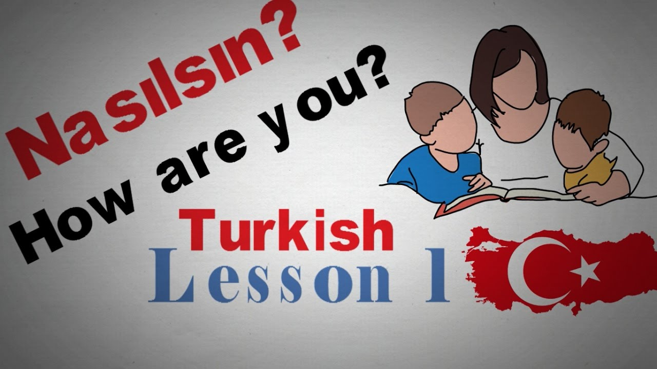 Learn Turkish Lesson 1 Greetings |  Animated
