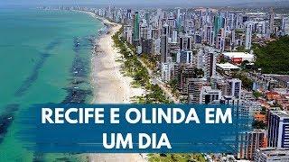 RECIFE E OLINDA - ROTEIRO DE 1 DIA | CASAL NÔMADE | VLOG 012
