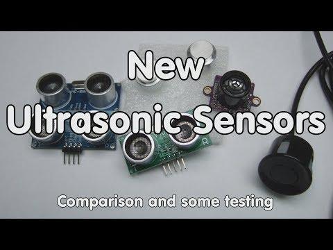 #190 New Ultrasonic Sensors: Comparison and Test (US42V2, JSN-SR04T, and US-100)