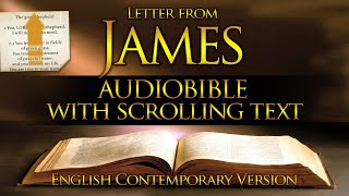 Holy Bible Audio: JAṀES (Contemporary English) With Text