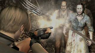 Resident Evil 4: Hour Long Gameplay Quick Look (Video Game Video Review)