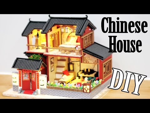 DIY Miniature Dollhouse Kit || Traditional Chinese House - Miniature Land