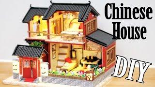 DIY Miniature Dollhouse Kit || Traditional Chinese House - Miniature Land