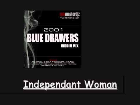 Delly Ranks Independant Woman Blue Drawers Riddim