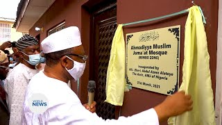 Inauguration Ceremony held for New Mosque in Nigeria