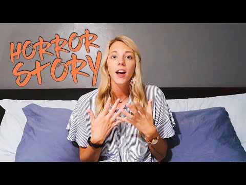 MY COLLEGE ROOMMATE HORROR STORY!!