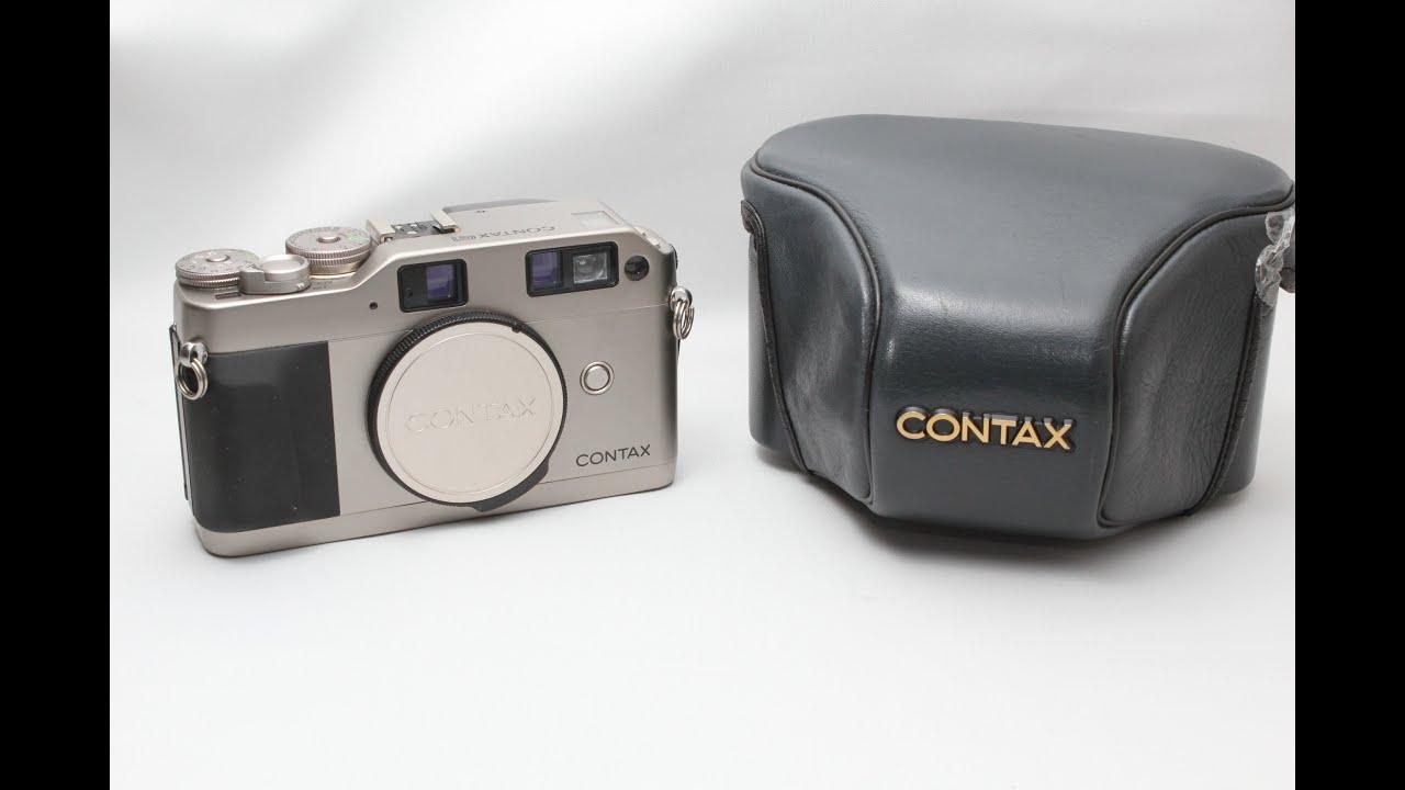 Contax G1 Rangefinder Film Camera Review