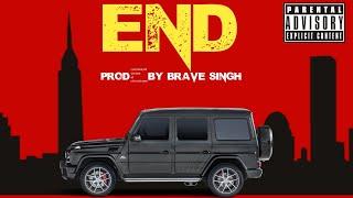 End😱 HipHop Rap Instumentel Dark Drill Type Beat prod.by Brave singh #hiphop #viral #beats #shorts