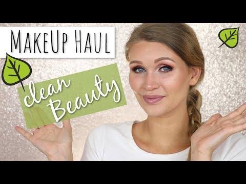 RIESEN MAKEUP HAUL   🌱 CLEAN BEAUTY   Honest Beauty, lilah b., Natasha Denona