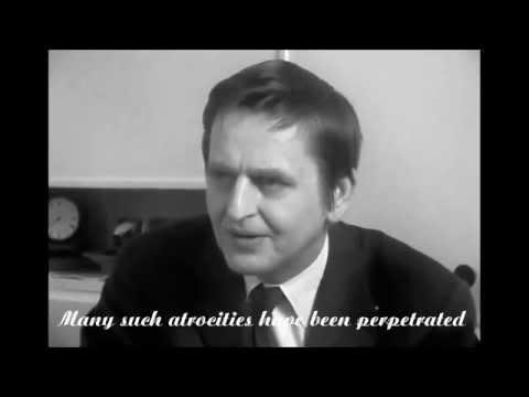 Olof Palme - Hanoi Speech 1972 (eng)
