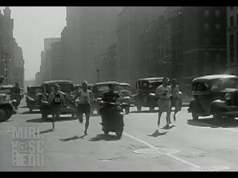 A. A. U. New York City Marathon, March 25 1934
